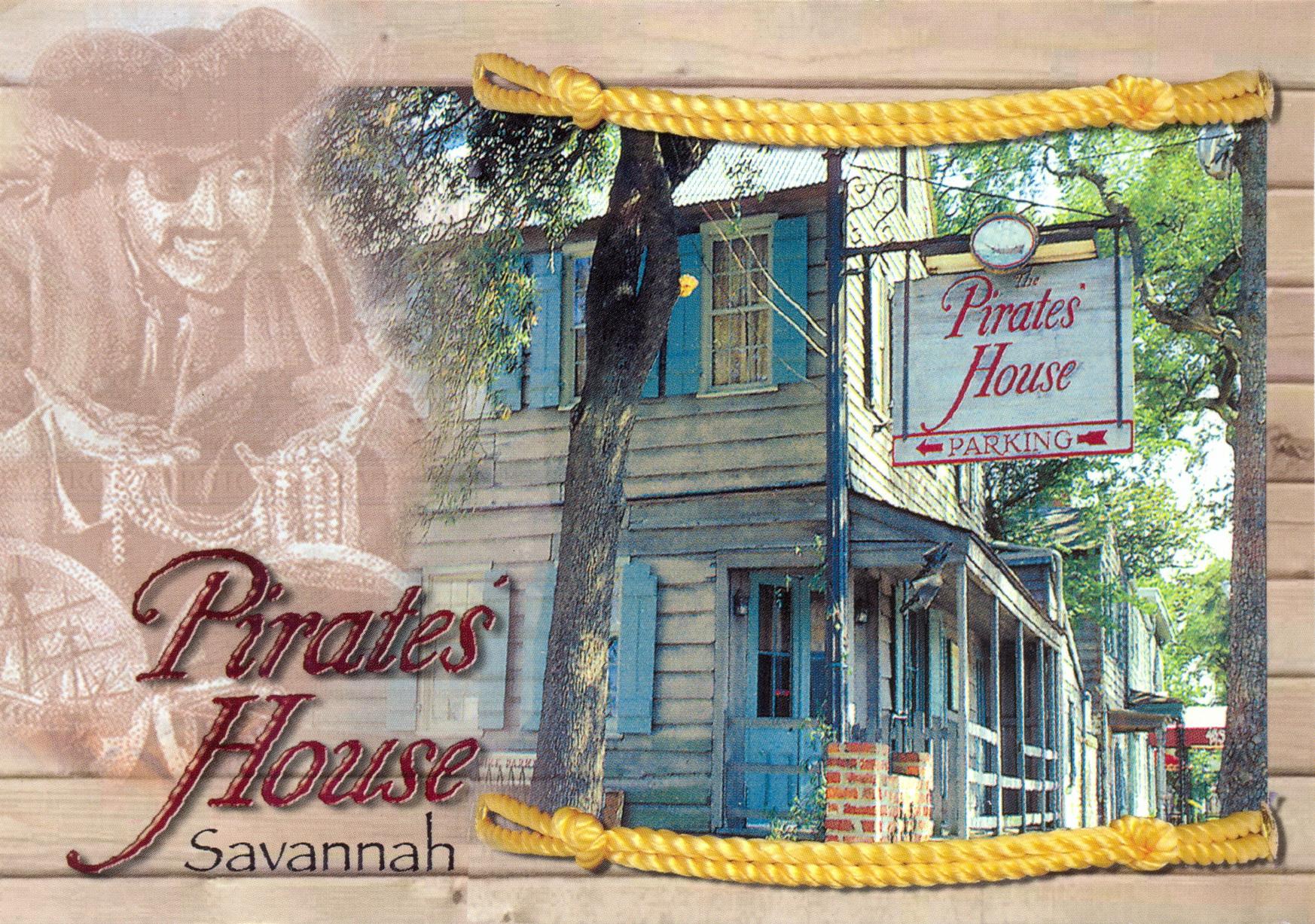 Пиратский дом в Саванне | Postcrossing