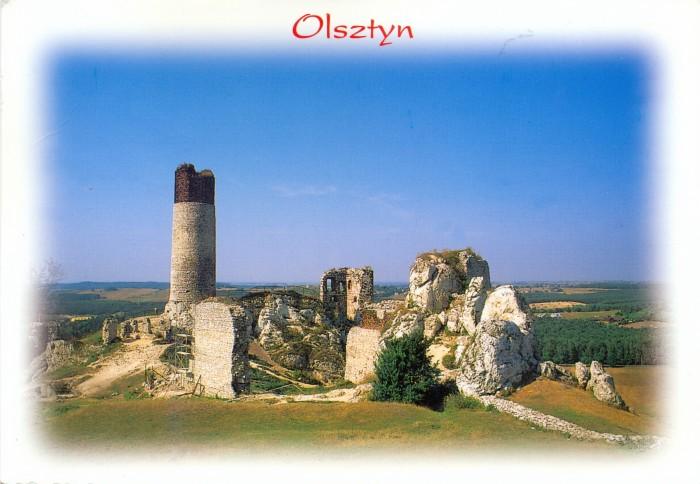 Замок Ольштын