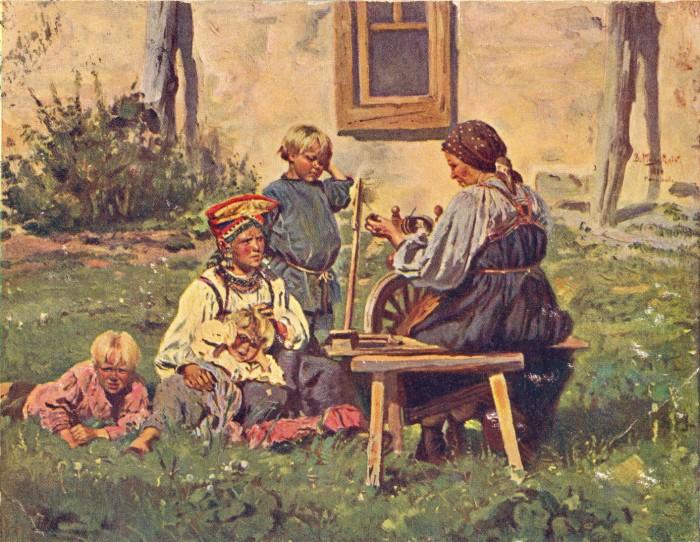 Маковский В деревне