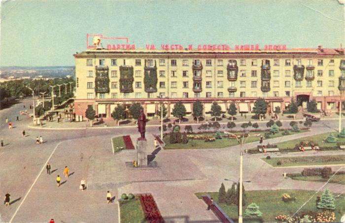 Площадь героев Великой Отечественной войны