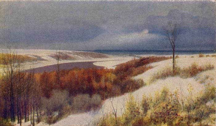Поленов Ранний снег
