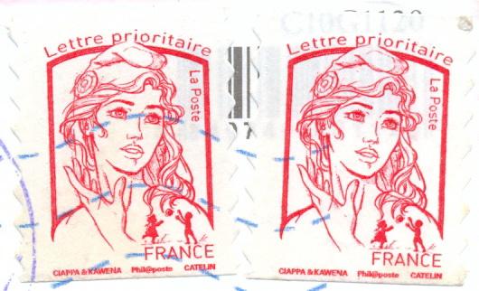 Французские марки