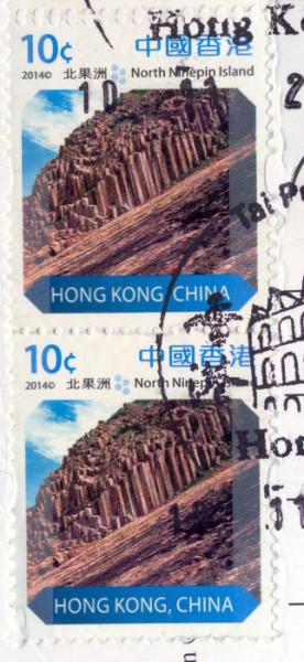 Марка Hong Kong