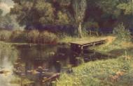 Поленов Заросший пруд