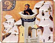Икона Столпник