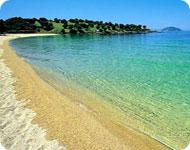 Пляж на Ситонии