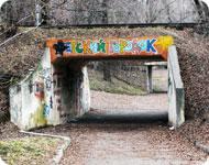 Мост узкоколейки