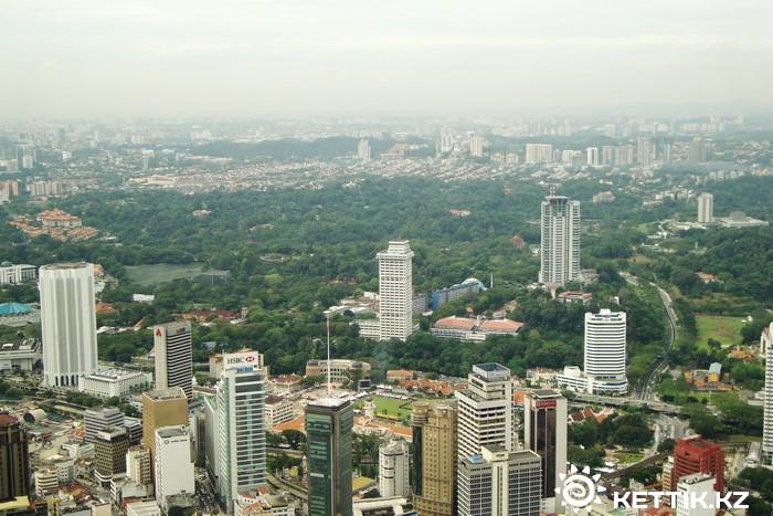 Вид на столицу Малайзии