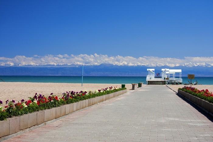Туристы из казахстана смогут добраться до озера иссык-куль за 30 минут