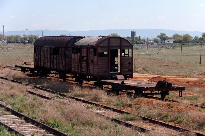 Старинные вагоны