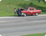 Машина на дороге