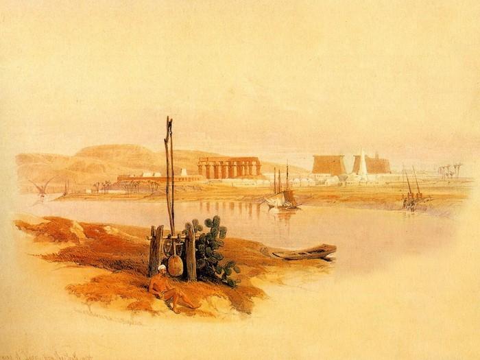 Храм на острове Филе в Египте