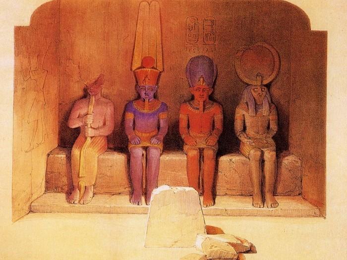 Древние статуи