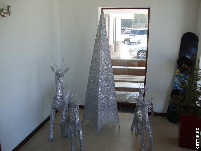 Серебрянные олени
