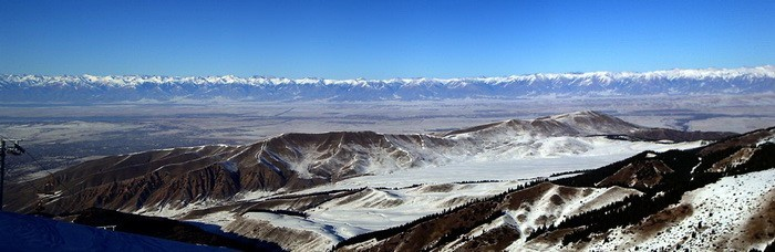Каракол панорама
