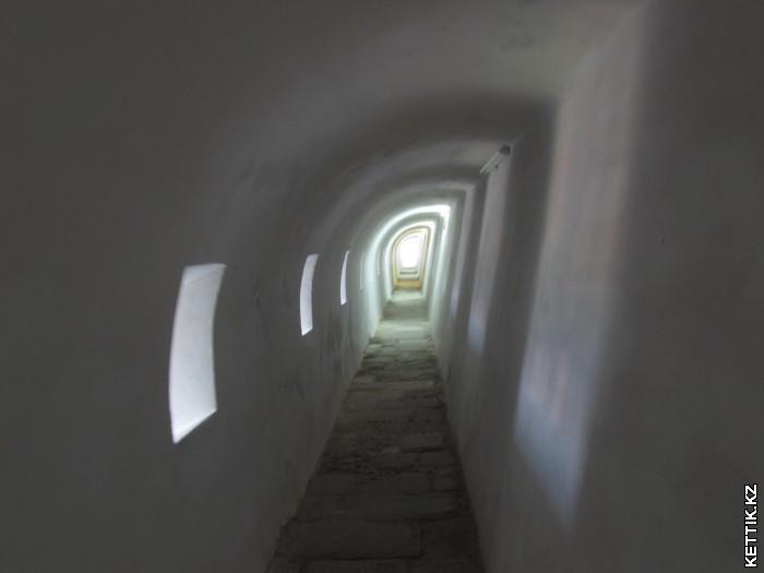 Галерея в крепости