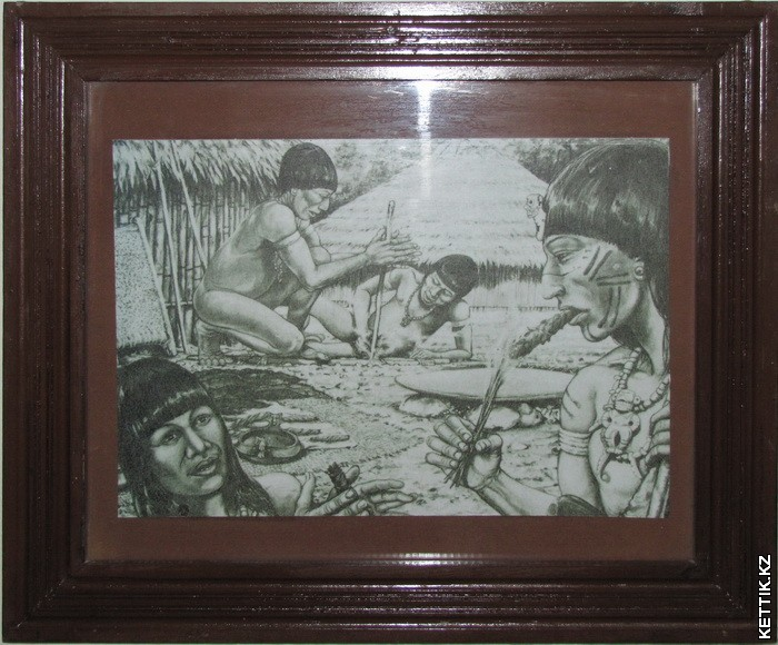 Индейцы с сигарами