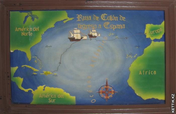 Карта экспедиции