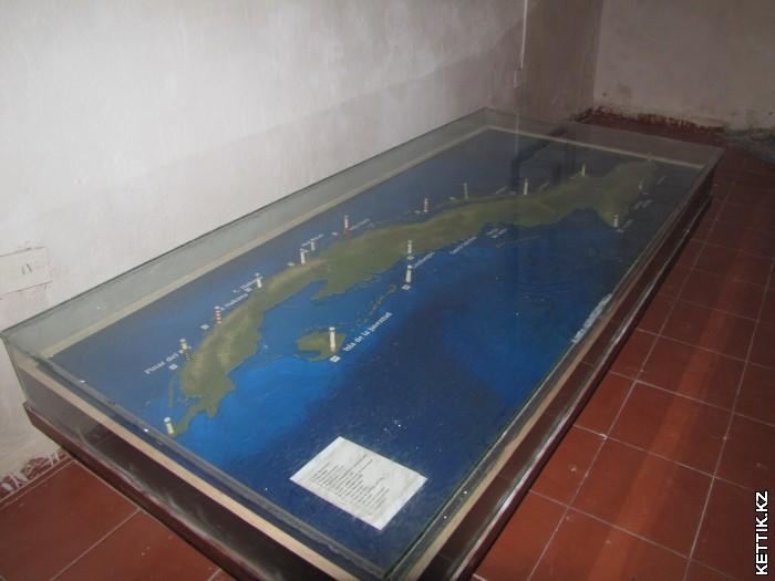 Карта маяков