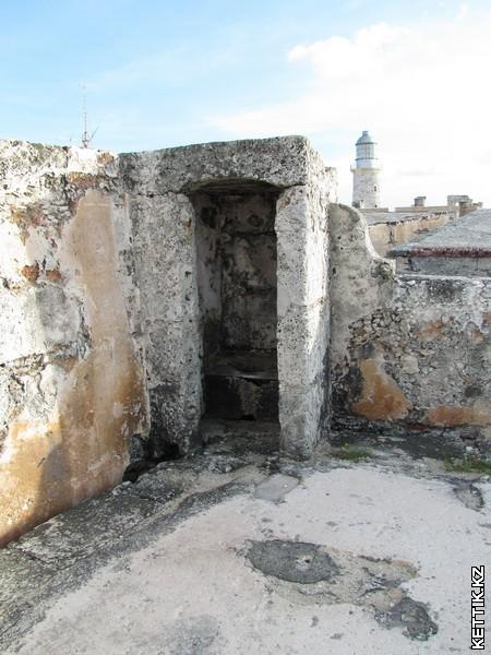 Туалет в крепости