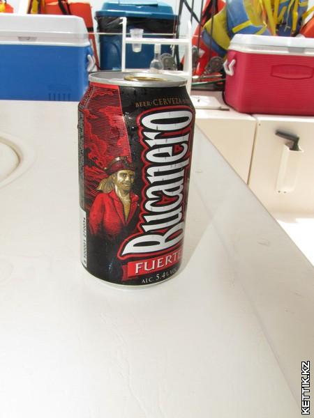 Пиво Bucanero