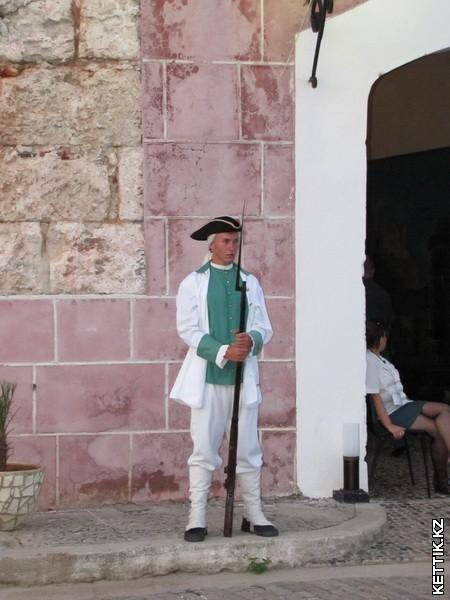 Испанские солдаты