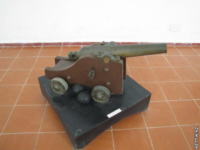 Маленькая пушка