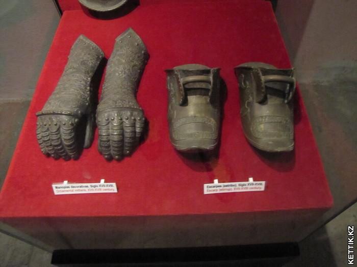 Защита кистей и ступней