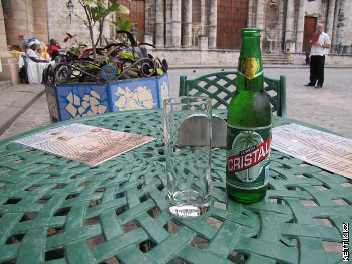 Пиво Cristal
