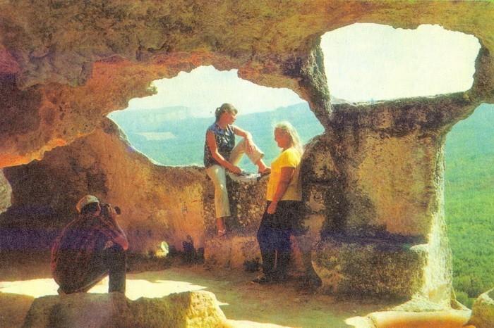 Привал в пещере
