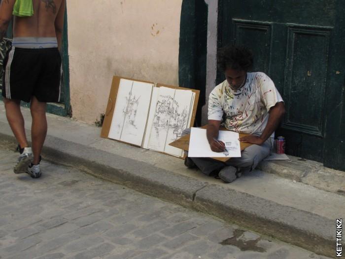 Уличный художники