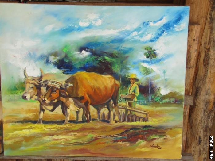 Кубинский крестьянин
