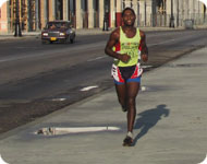 Кубинский легкоатлет
