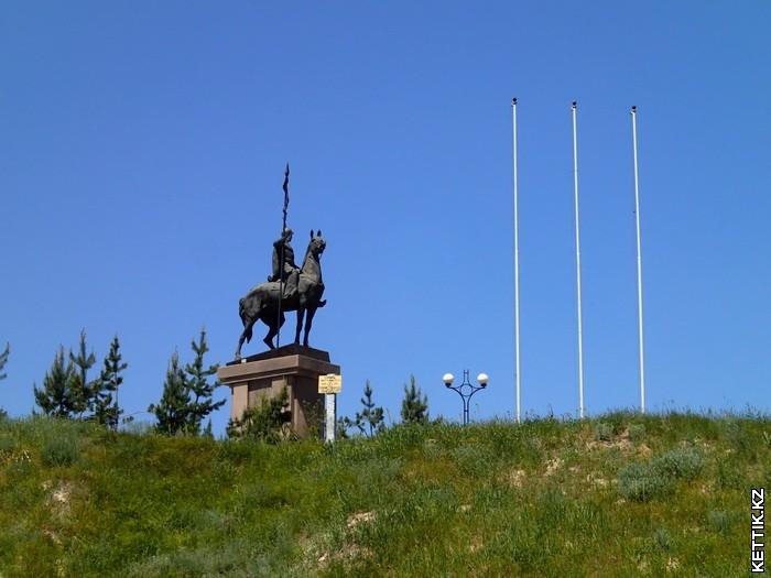 Памятник Наурызбай-батыру