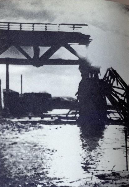 Взрыв моста