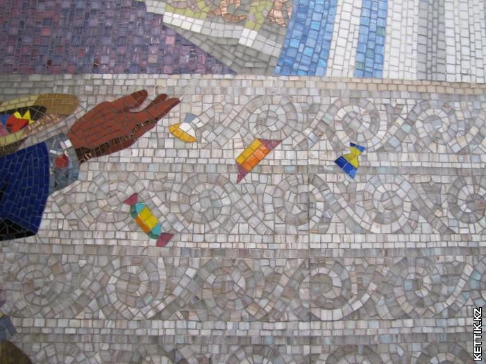 Мозаичные конфеты
