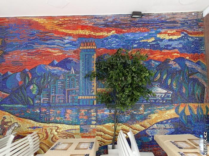 Мозаика Алма-Ата