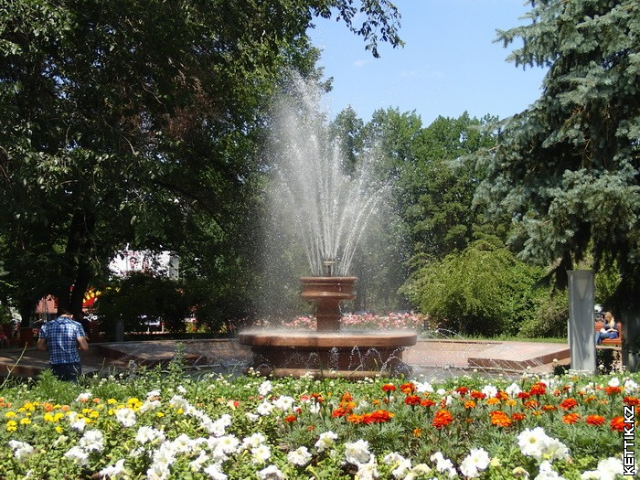 Круглые фонтаны
