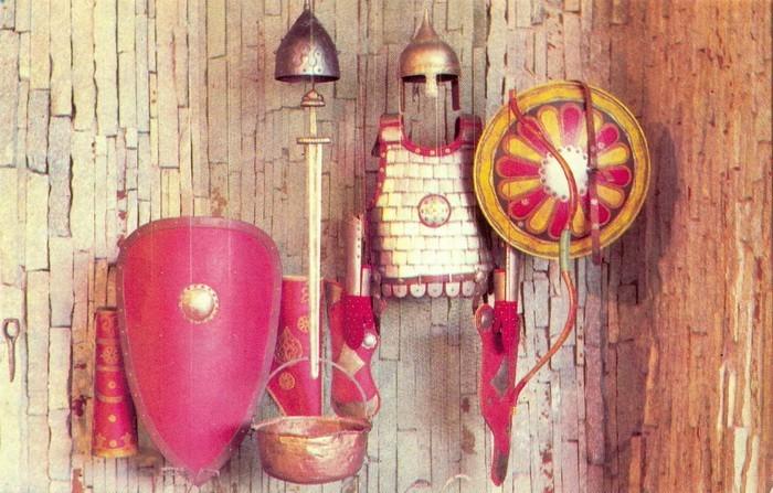 Снаряжение древнерусского воина