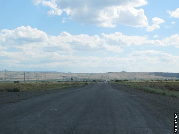 Дорога на Алаколь