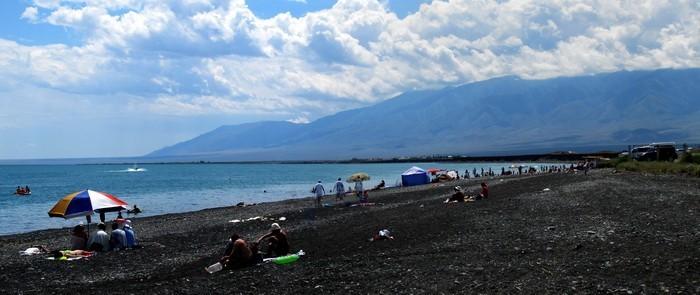 Пляж на Алаколе
