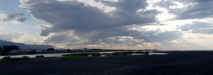 Закат над Алаколем