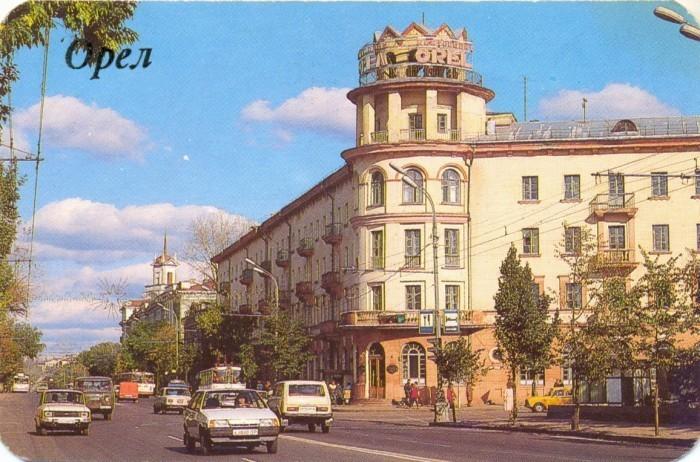 Гостиница Орел