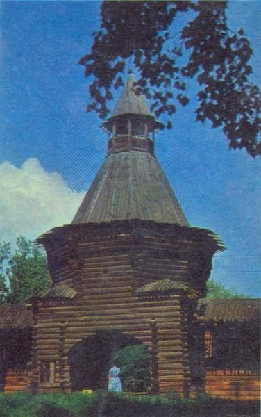 Проездная башня в Коломенском
