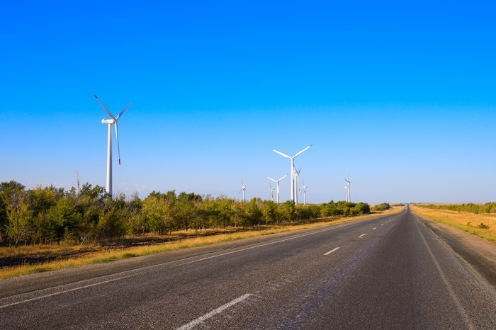 Ветряная электростанция Кордай