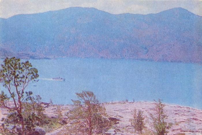 На озере Жасыбай