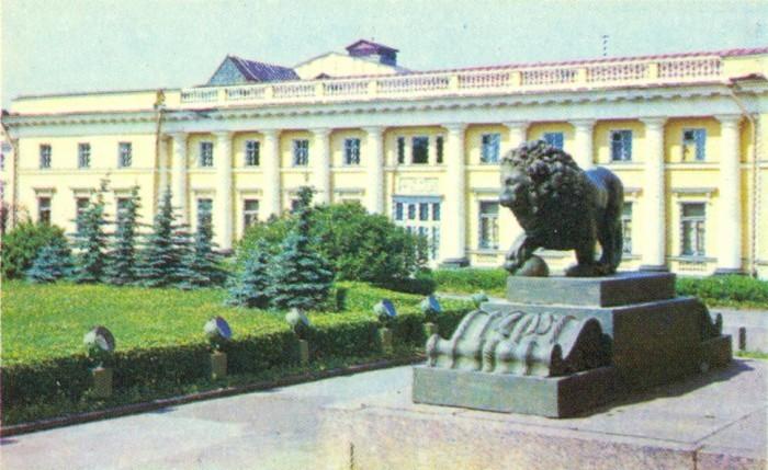 У Государственного Русского музея.