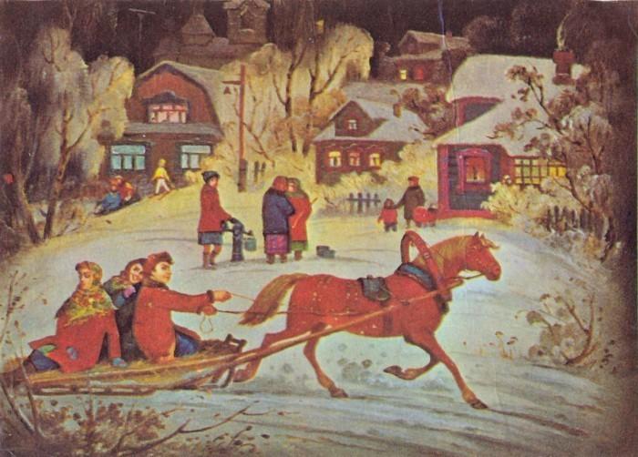 Зима в Федоскино