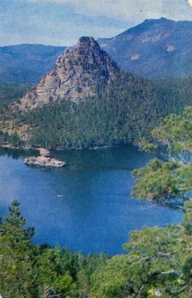 На озере Боровом