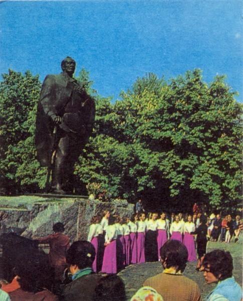Памятник Я. Купале